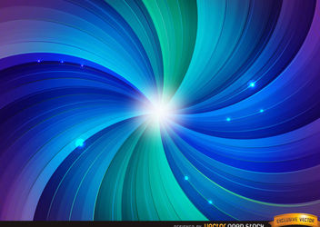 Swirl Spiral Futuristic Background - Free vector #167237
