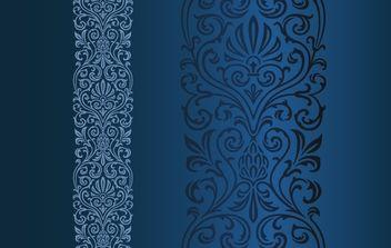 Vintage Floral Ornamental Pattern - Kostenloses vector #168227