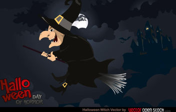Halloween Witch - Free vector #168457