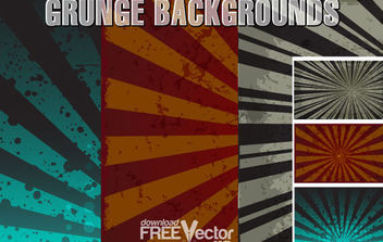 Free Vector Grunge Background - Free vector #168667