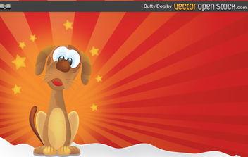 Cutty Dog - vector gratuit #168677