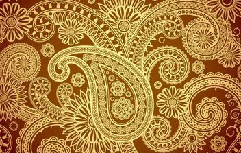 Damask Background - Free vector #168717
