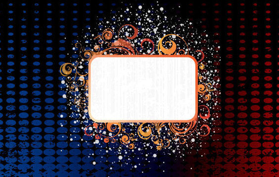 Messy banner - Free vector #168797