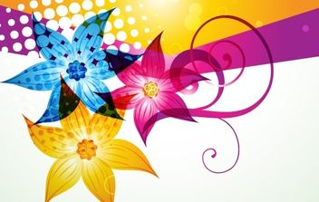 Fashion Color Background Vector - Free vector #169077