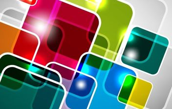 Abstract Square Vector Background - vector gratuit #169257