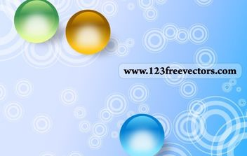 Abstract Circle Background - vector #169367 gratis