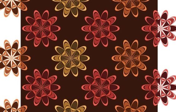 Retro Background 7 - Free vector #169397