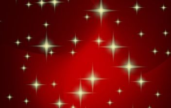 Red vector xmas background - Free vector #169537