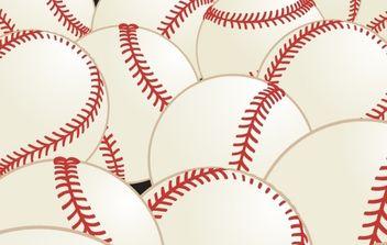 Pattern Vector baseball - Free vector #169627