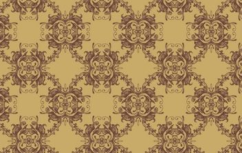 Vector Seamless Pattern-Ornament - Free vector #169957