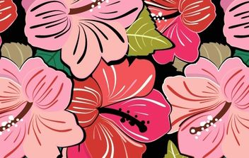 Very flowery Ai free patterns - Free vector #170027