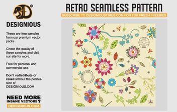 Seamless Retro Vectors - Free vector #170067
