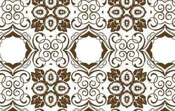 Brown Seamless Wallpaper - vector gratuit #170167