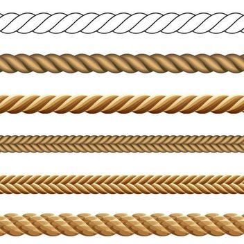 Abstract Rope Pack - Free vector #170887