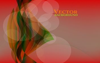 Twisted Vector on Red Gradient Background - Kostenloses vector #170957