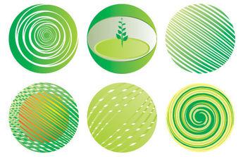 Green Globe Vector - Kostenloses vector #171037
