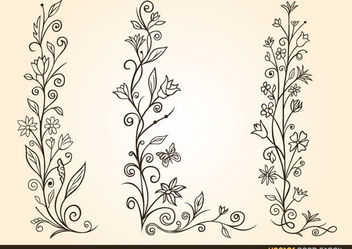 Ornamental Flower Design - Free vector #171737