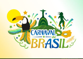 Carnival de Brazil - Free vector #171747