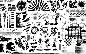 Grunge Clip Art - Kostenloses vector #172267