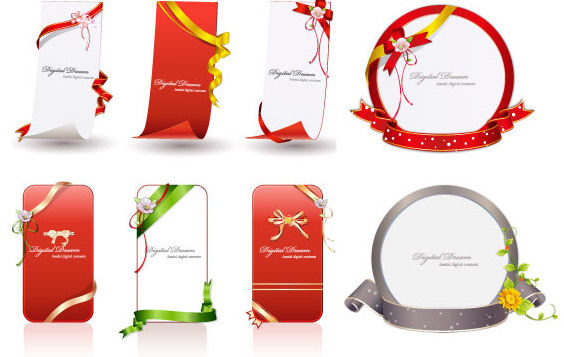 Ribbons for You - Free vector #172327