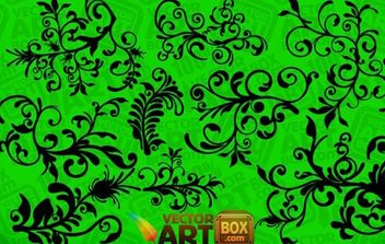 Floral Clip Art - Free vector #172577