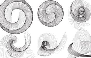 spiral vectors - Free vector #172607