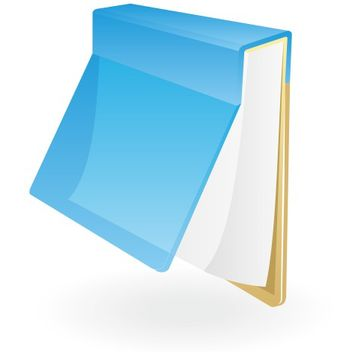 Blank Notepad Hanging on a Board - vector gratuit #173257