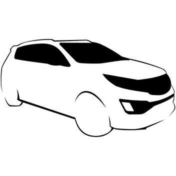 Kia Sportage Sketch - Free vector #173287