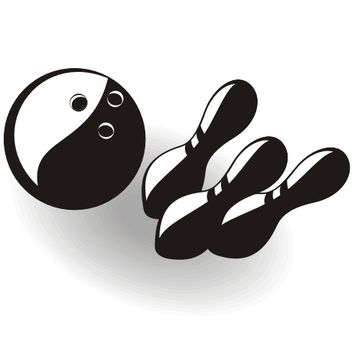 Bowling vector graphics - Free vector #173347