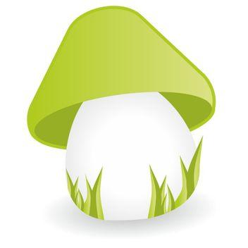 Mushroom vector - vector #173517 gratis