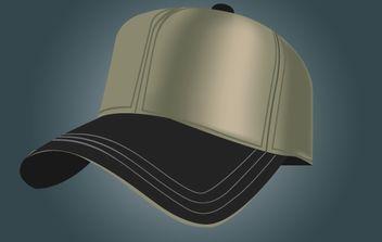 Realistic Sports Cap - vector gratuit #174027