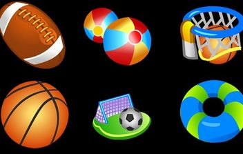Sports Icon Set - Free vector #174187