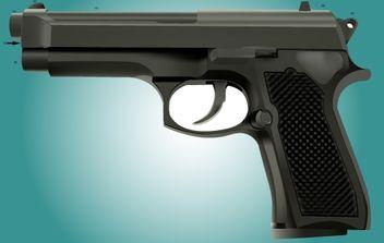 Photorealistic Revolver Vector - Kostenloses vector #174237
