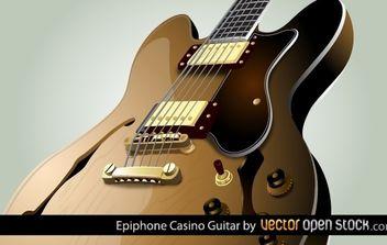 Epiphone Casino Guitar - vector gratuit #174467