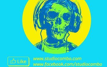 Skull - Kostenloses vector #174627