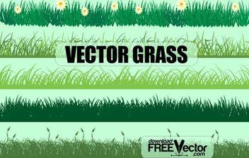 Vector Grass - бесплатный vector #174797
