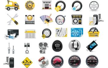 Free Meter tire tool icon - Free vector #174907