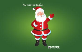 Free Vector Santa Claus - vector gratuit #175117