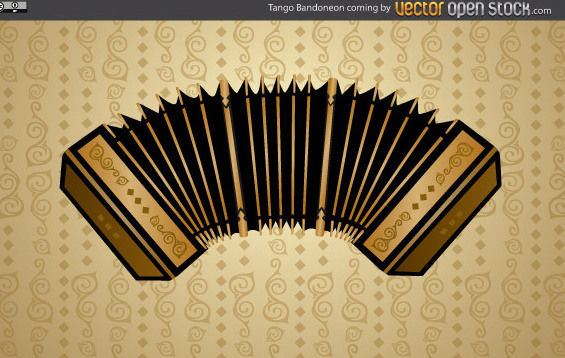 Tango Bandoneon - vector #175147 gratis