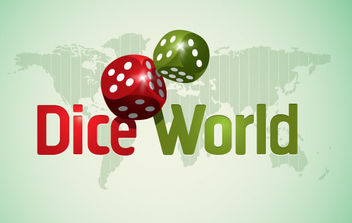 Dice World - vector #175187 gratis
