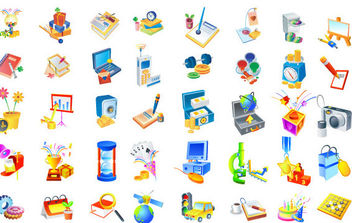 Isometric Vector icons - бесплатный vector #175297