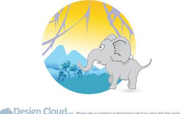 Free Vector Elephant - Free vector #175417