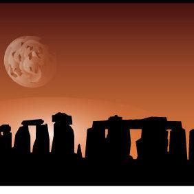 Stonehenge Site - vector #175537 gratis