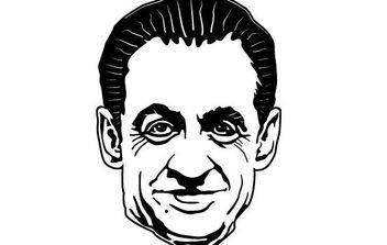 Sarkozy Vector Portrait - Kostenloses vector #175597