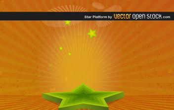 Star Platform - vector #175917 gratis