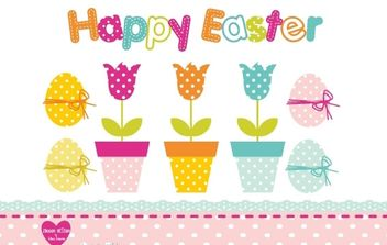 Easter Design Set - Free vector #175937