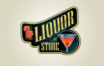 Liquor Store Logo - бесплатный vector #175967