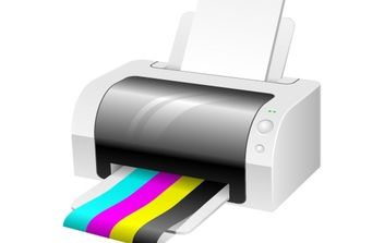 Vector Printer - vector gratuit #176007