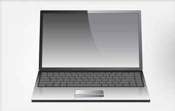 Laptop - vector #176217 gratis