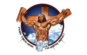 Apathy Jesus - Free vector #176307
